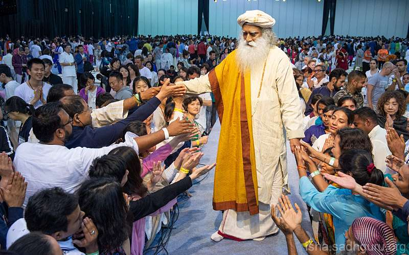 Quotes about life - Connect with Sadhguru, keep up with Isha, receive Sadhguru's daily quote, all from your mobile
