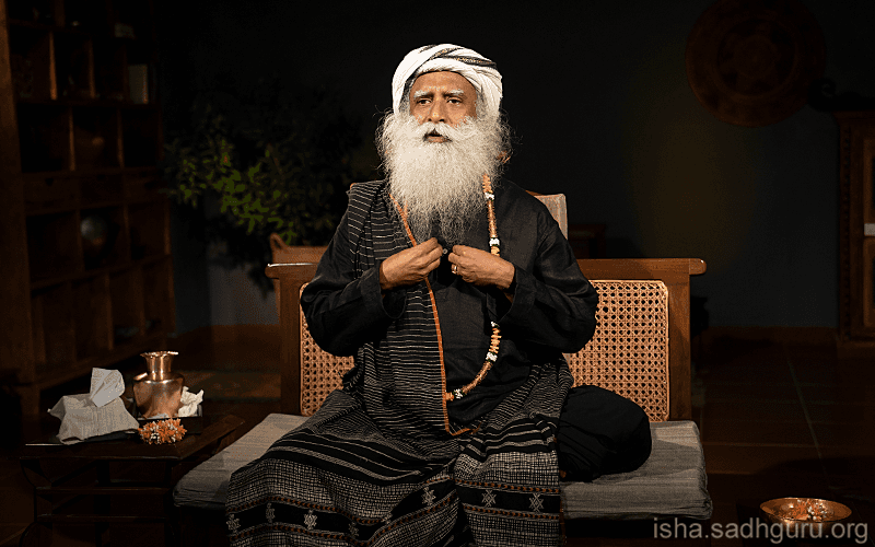 Quotes about life - Sadhguru on the geometry of the human energy system and the journey from conclusions to confusion to consciousness.