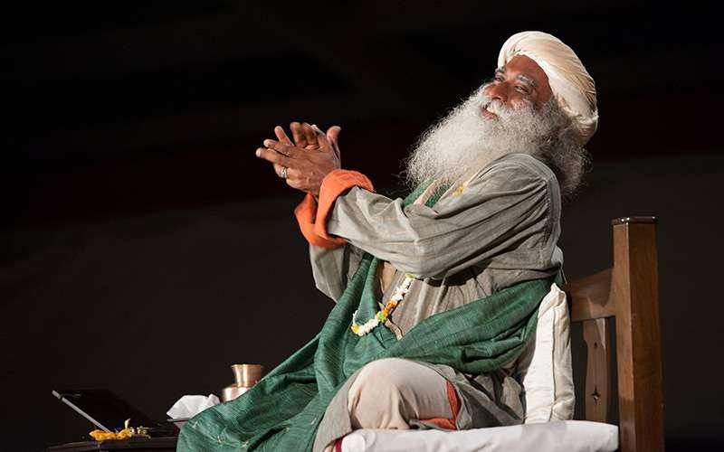 quotes deep - sadhguru explains that spirituality essentially means moving towards ultimate freedom