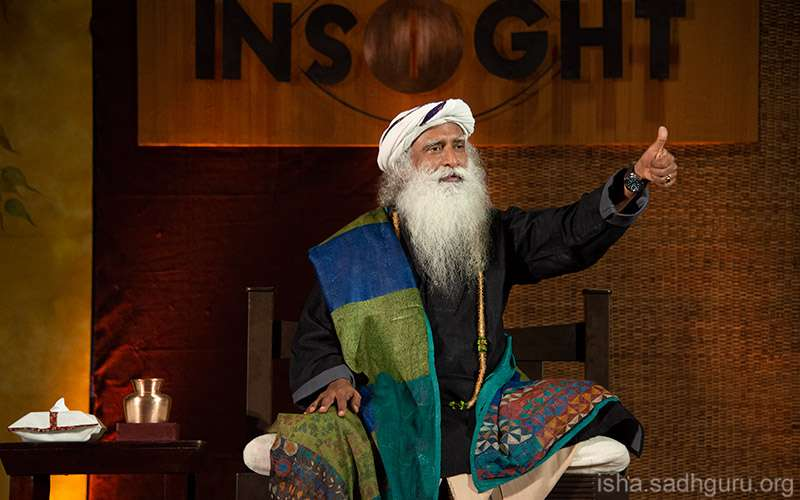 Quotes about life - Sadhguru offers Inner Engineering: Transform your life with Sadhguru