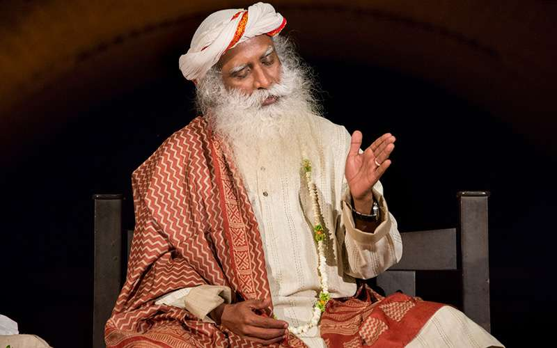quotes inspirational - sadhguru describes the intellect as a knife which can only dissect and chop