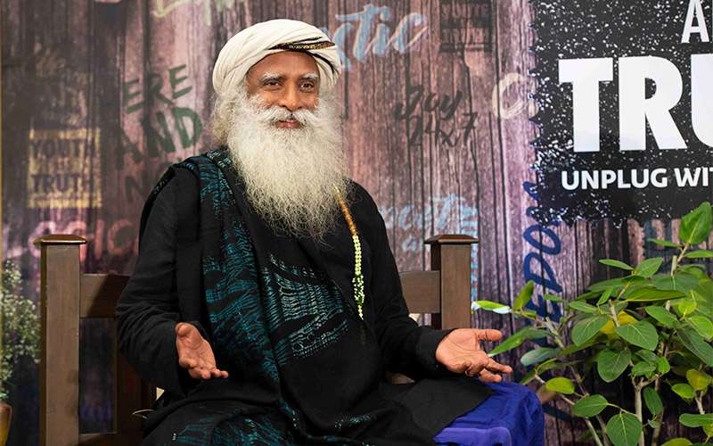 """Quotes about life - Sadhguru looks at how if we want to transform ourselves, we need to """"take a holiday"""" from being serious."""
