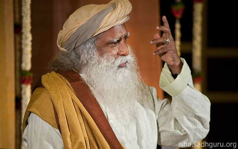 Quotes about life - For one on the path of yoga, says Sadhguru, the effort is to move away from the ways of the body and become aligned with the inner nature.