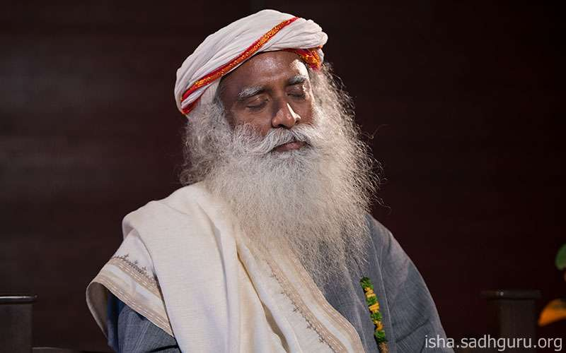 Quotes about life - Sadhguru looks at how being peaceful is essentially about creating the right kind of chemistry in the body.