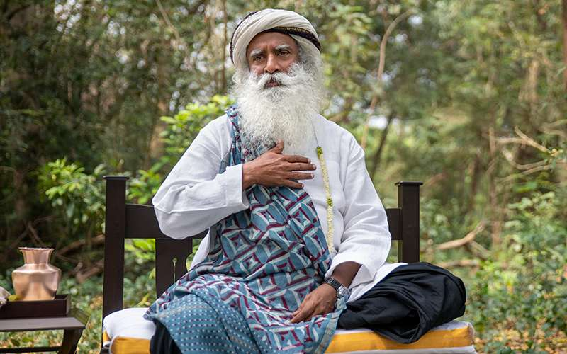 Quotes about Life - Sadhguru introduces us to the only way to experience sustainable inner wellbeing.