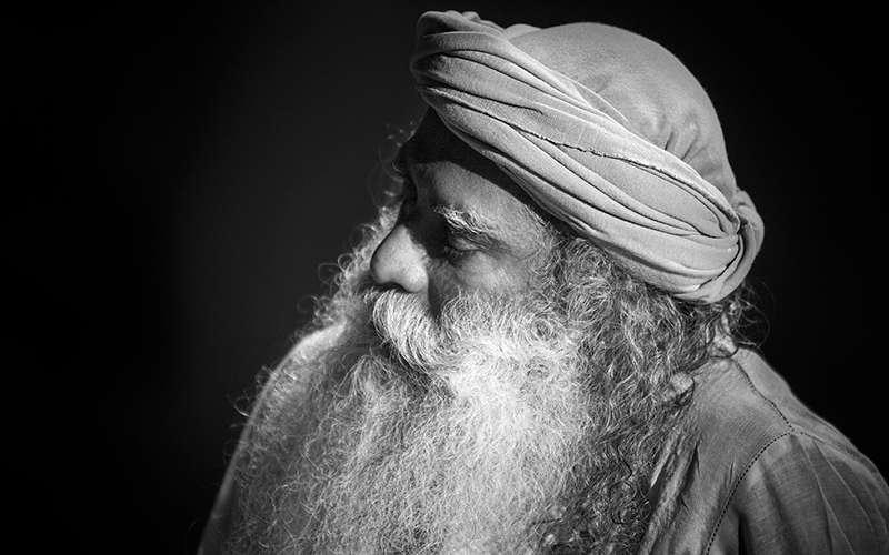 """Quotes about Life - Sadhguru explains that the purpose of yoga is to create a space for that which is """"not you"""""""