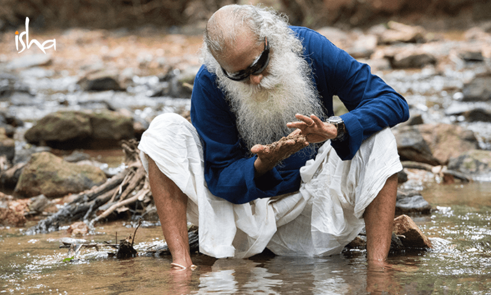 sadhguru wisdom article | river interlinking will not save indias problems
