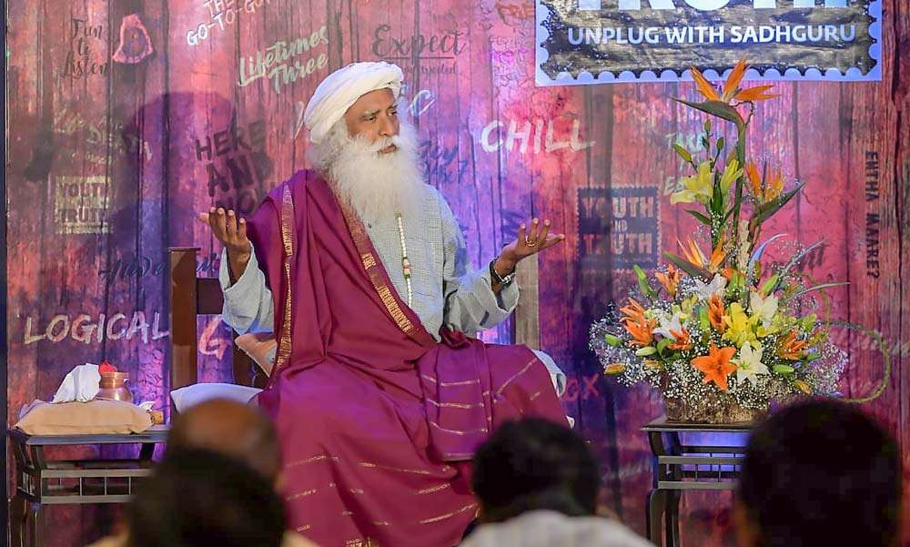 Sadhguru speaks at a Youth and Truth media interview | Sex: Sacred or Sinful?
