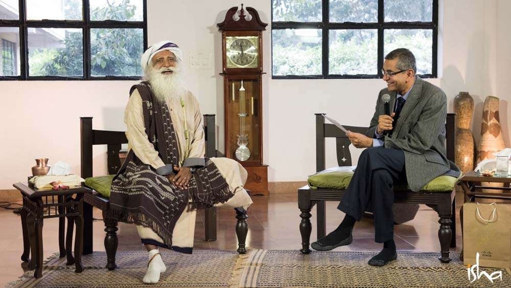 Sadhguru In Conversation with Cisco VC Gopalratnam, at Isha Home School Library | Sadhguru: Up Close and Personal