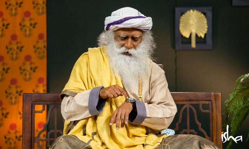 Sadhguru Wisdom Article | Why Timing Is Everything