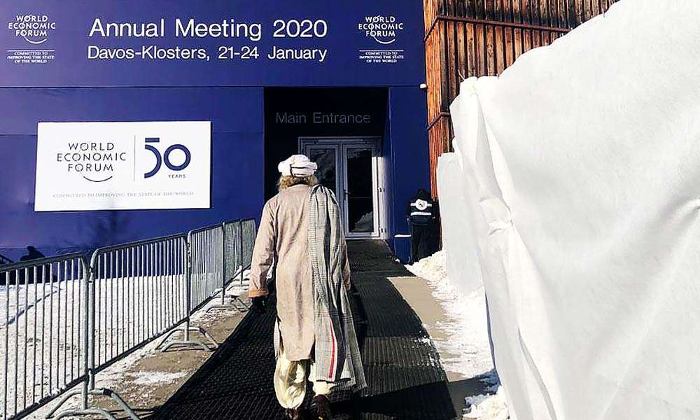 Sadhguru in Davos, Bringing Meditation and Consciousness to WEF 2020