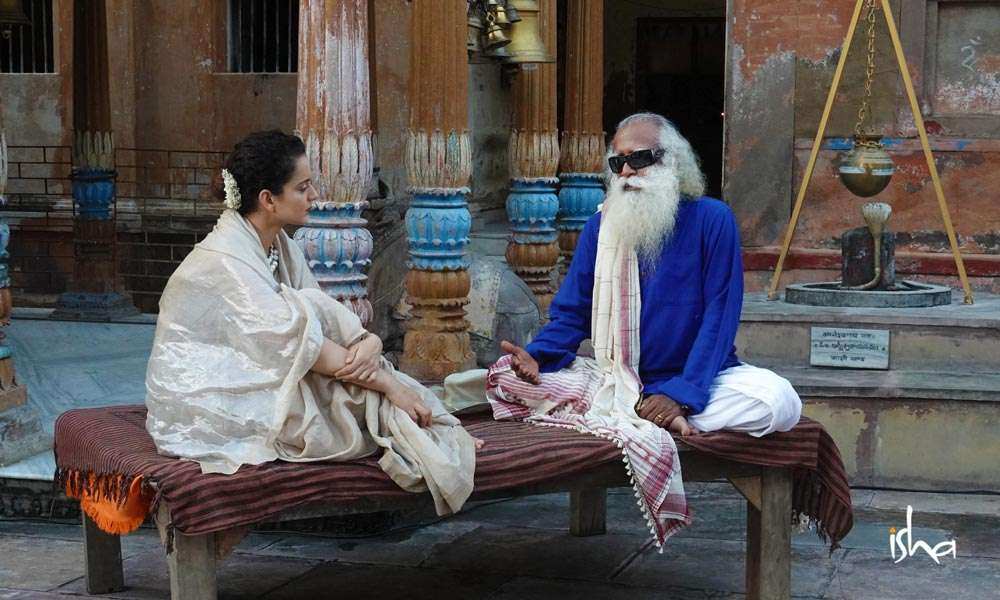 Sadhguru WIsdom Article | Kangana Ranaut Explores the Potency of Indian Temples with Sadhguru