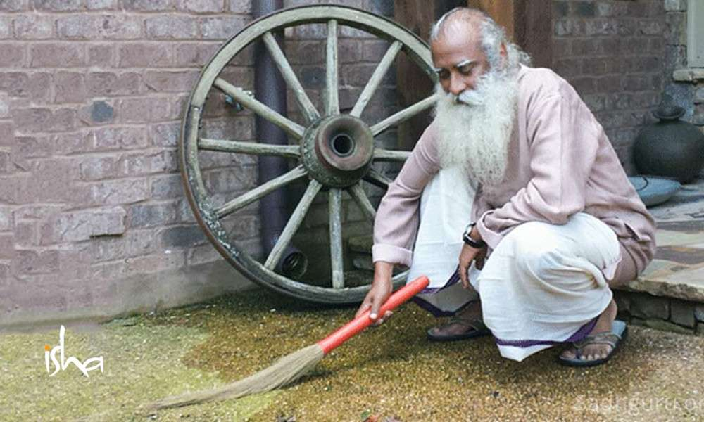 sadhguru wisdom article | the significance of cleanliness