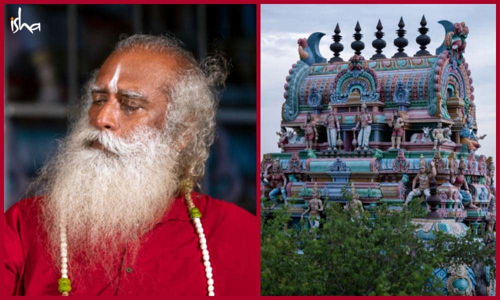 Sadhguru Wisdom Article | The Spectacular Natadreeswarar Temple in Cauvery