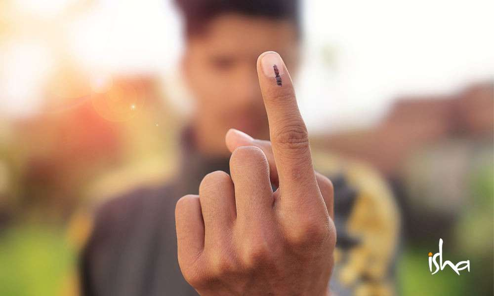 sadhguru wisdom article | 5 things to remember when you vote