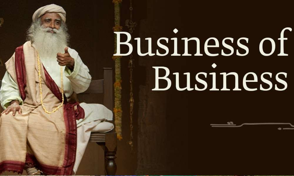 sadhguru wisdom audio | business of business