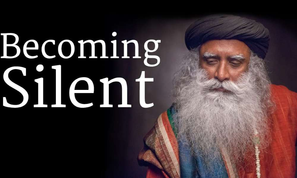 sadhguru wisdom audio | How to Become Silent? - Sadhguru