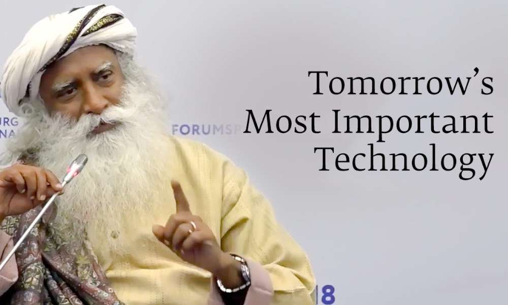 Sadhguru Wisdom Audio | Tomorrow's Most Important Technology