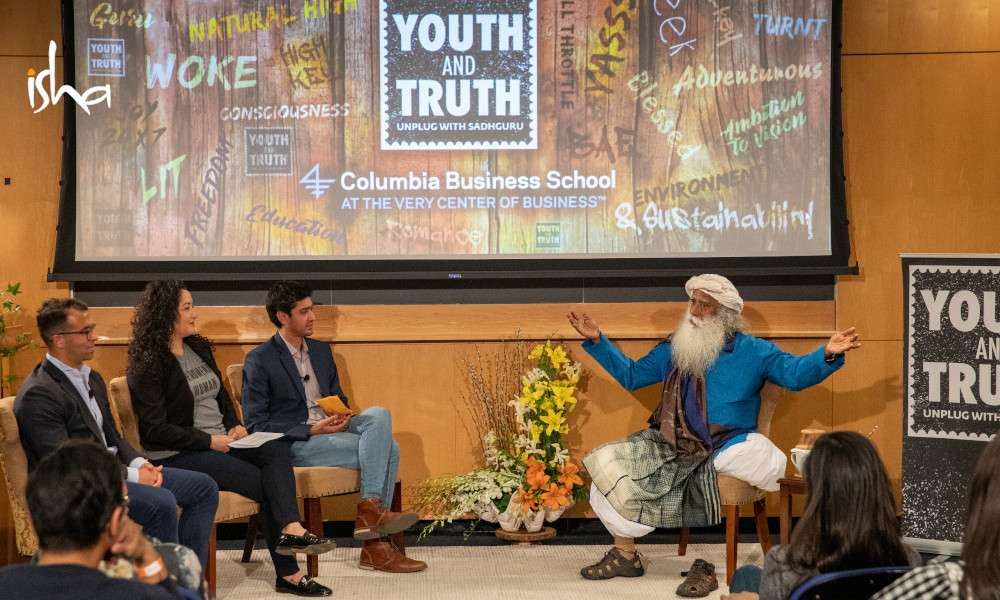 Youth AND Truth at Columbia University with Sadhguru