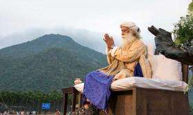 Velliangiri hills and Sadhguru