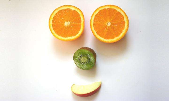Happy Fruit face