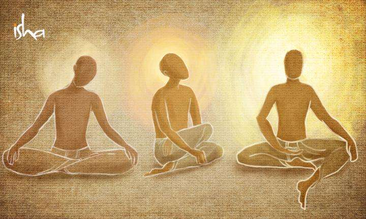 sadhguru wisdom article | 3 kinds of yogis | illustration