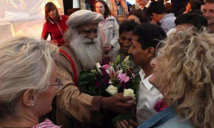 Sadhguru at 2011 Berlin Yoga Fest - 02