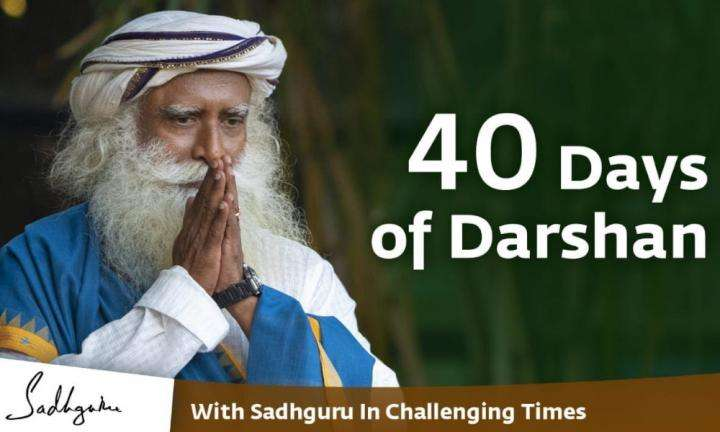 Sadhguru Wisdom Video | 40 Days of Darshan - The Power of Mantra - With Sadhguru in Challenging Times - 30 Apr