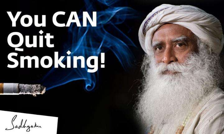 sadhguru wisdom video | How Can I Quit Smoking? – Sadhguru Answers