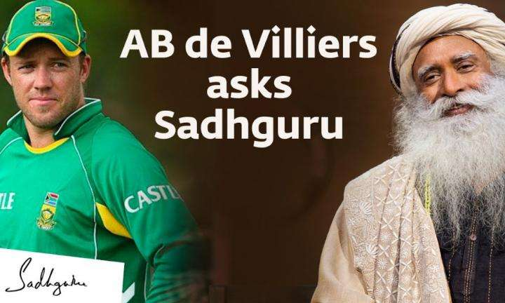 Sadhguru Wisdom Video | AB de Villiers Asks Sadhguru About Fixing South Africa's Rough Past