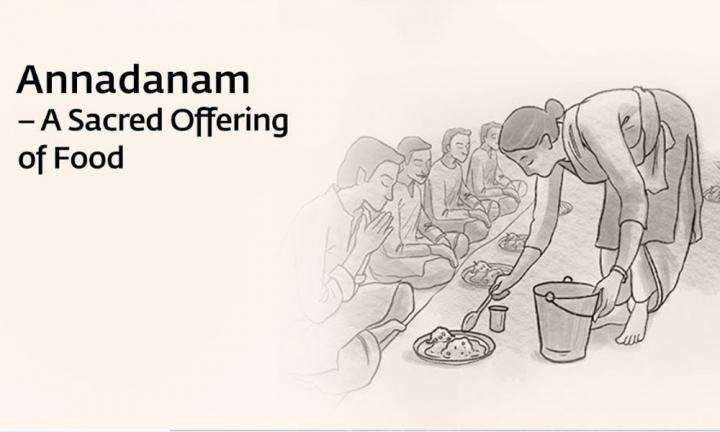 sadhguru wisdom video | annadanam a sacred offering of food