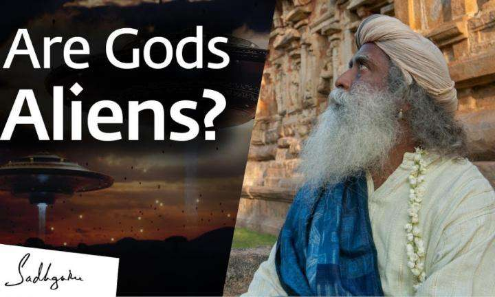 sadhguru wisdom video | are our gods actually aliens sadhguru answers
