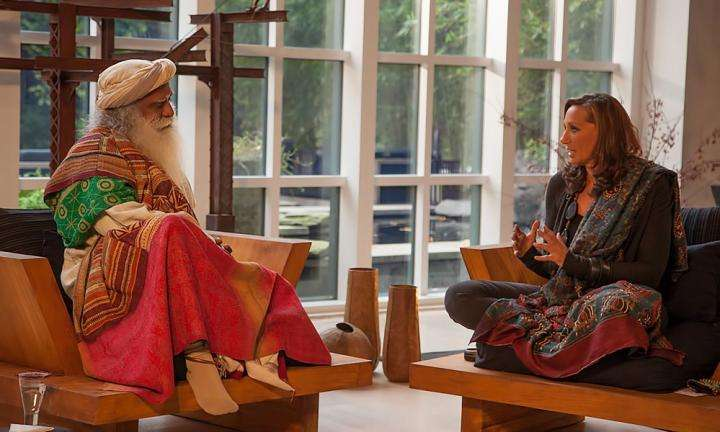 Fashion and Preserving Culture - Sadhguru with Donna Karan