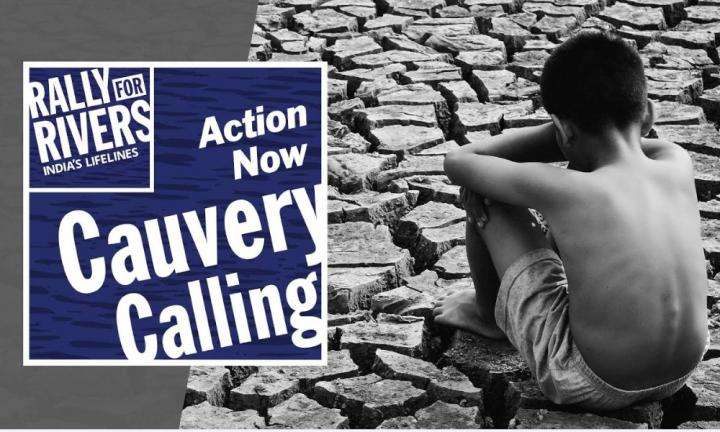 sadhguru wisdom video | cauvery calling - action now to save cauvery