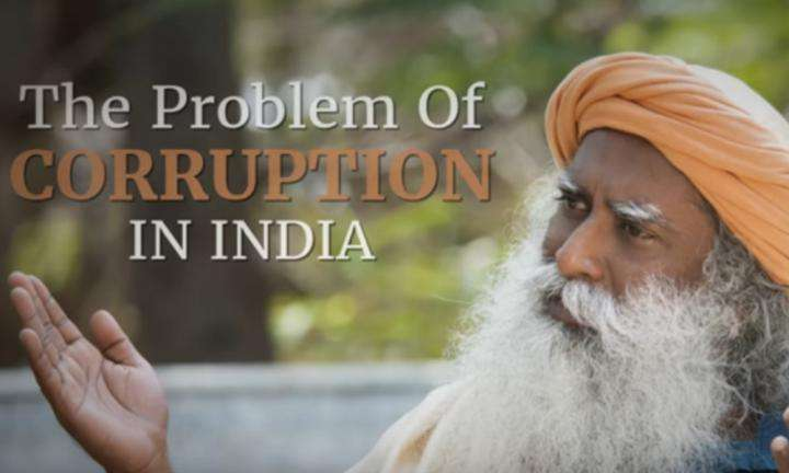 The Problem of Corruption in India | Sadhguru