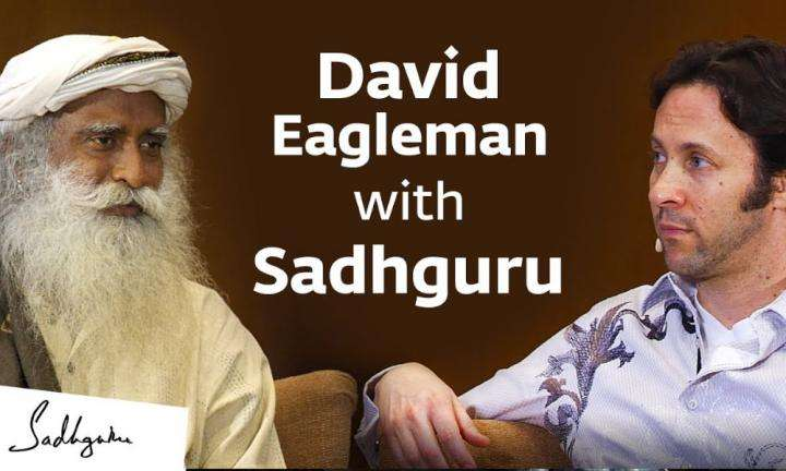 sadhguru wisdom video | neuroscientist david eagleman with sadhguru inconversation with mystic