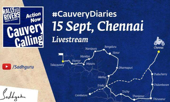 Cauvery Calling In Chennai - Live @ Sep 15, 3:30 PM