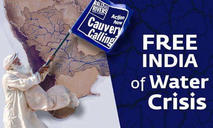 sadhguru wisdom video | FREE INDIA of Water Crisis