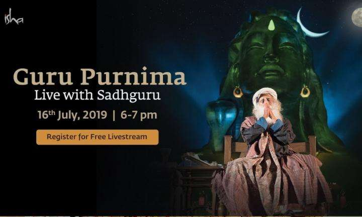 sadhguru wisdom video | guru purnima live with sadhguru