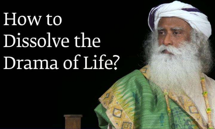 sadhguru wisdom audio | how to dissolve the drama of life