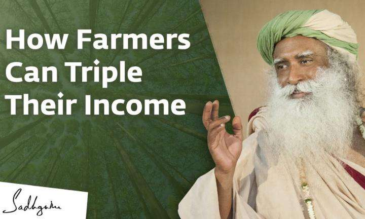 Sadhguru Wisdom Video | How We Can Triple Farmer Income & Revive India's Agriculture