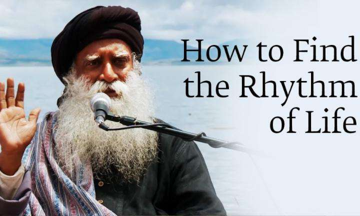sadhguru wisdom audio | how to find the rhythm of life | sadhguru in manasarovar
