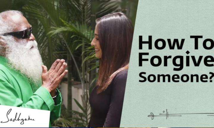 Sadhguru Wisdom Video | How to Forgive Someone? Raai Laxmi Asks Sadhguru