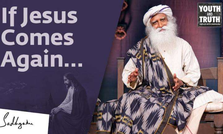 Sadhguru Wisdom Video | How Many People Would Follow Jesus Today? Sadhguru Answers