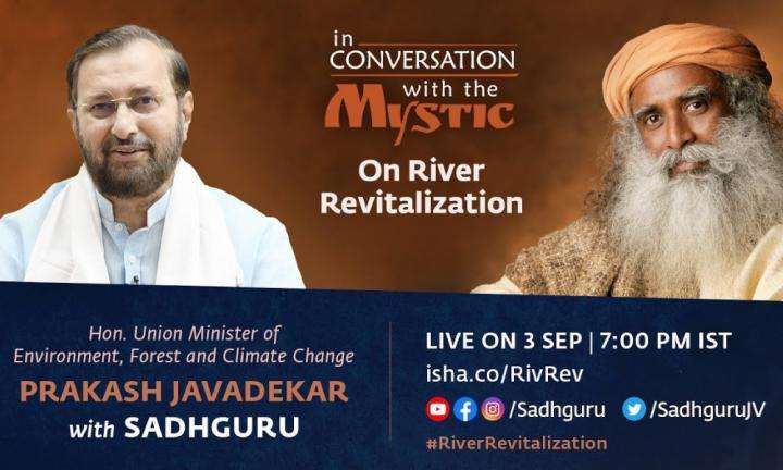 Sadhguru Wisdom Video | Union Minister, Prakash Javadekar with Sadhguru: In Conversation with the Mystic