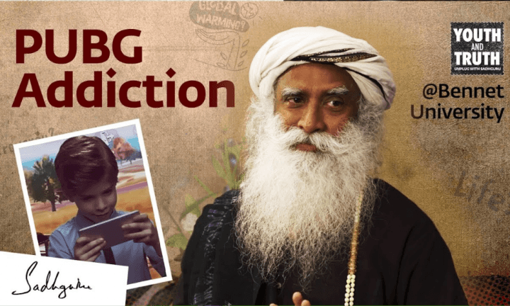 is-playing-pubg-bad-for-you-sadhguru-on-pubg-addiction-sadhguru-wisdom-video-youth-and-truth-event