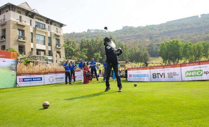 Isha Vidhya Golf Jaunt with Sadhguru at Oxford Golf Course in Pune
