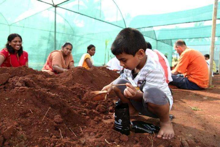 Prithvi Prem Seva at GreenHands Nursery