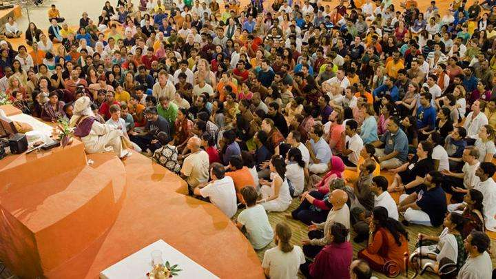 """Sadhguru at Bhava Spandana program in Mahima, IIIS, TN, USA"""
