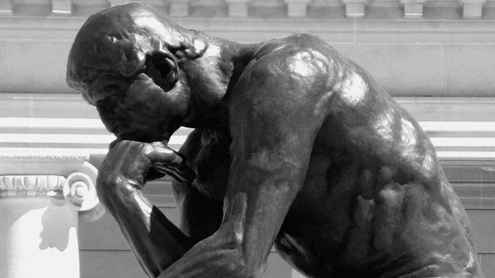The Thinker - sculpture by Auguste Rodin